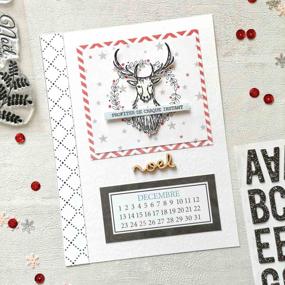 page december daily classeur scrapbooking